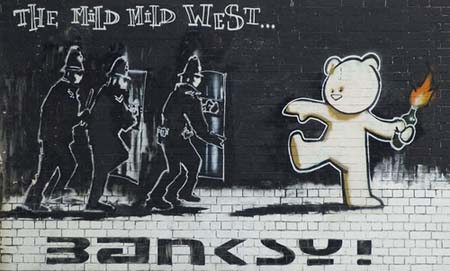 Banksy_The_Mild_Mild_West_Stokes_Croft