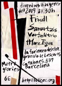 Vorfeld trio + Marc Egea