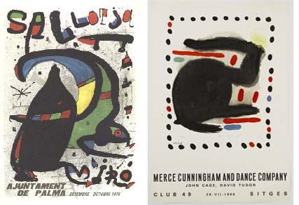 carteles de Joan Miró
