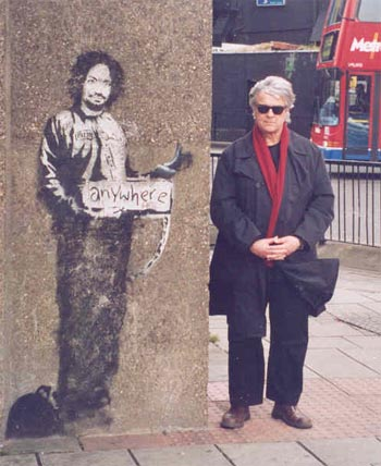 Charlie Mason by Banksy, featuring J.Valls