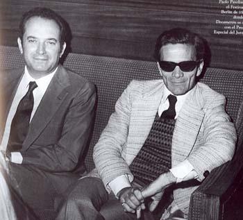 Grimaldi y Pasolini en Berlin (1971) el decameron