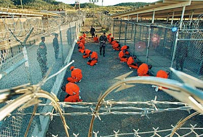 talibanes en Guantánamo