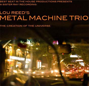 lou reed's metal machine trio