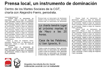 prensa local instrumento de dominacion